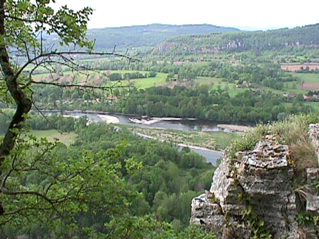 Dordogne valley near Carennac