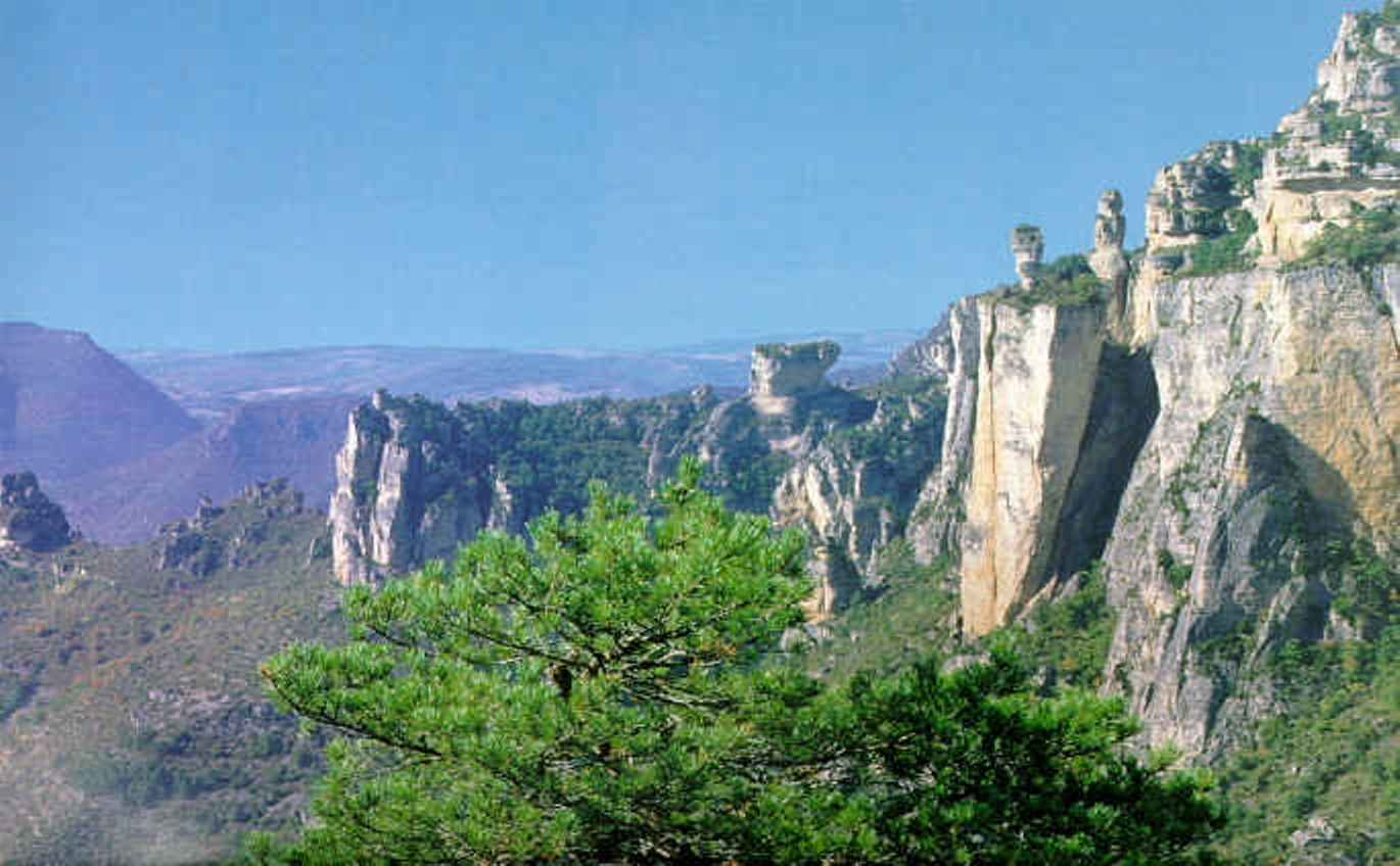 Walking on Causses and Gorges in France