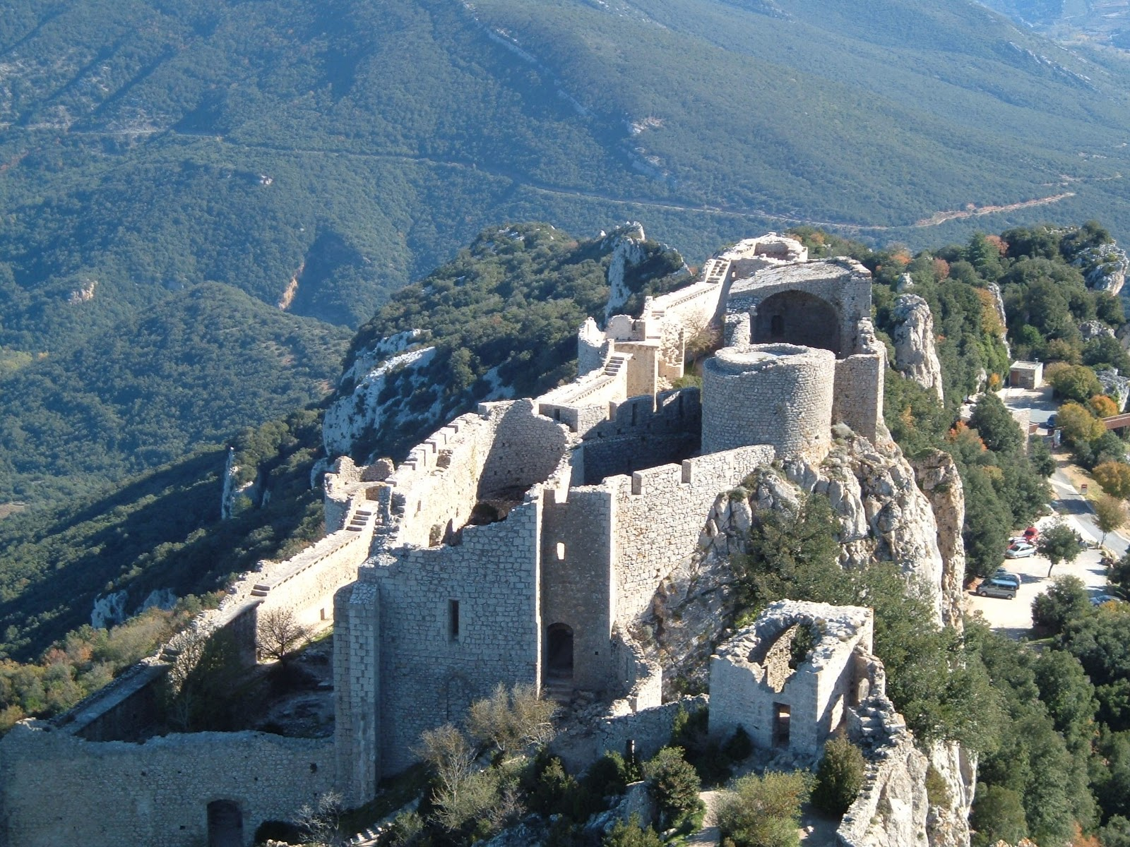 Walking the Cathar Trail in the Pyrenees