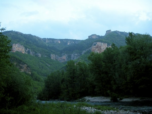 Gorgese de la Dourbie between Millau and Nant